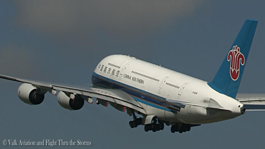 China Southern and Emirates A380 @ RW36L.Still005