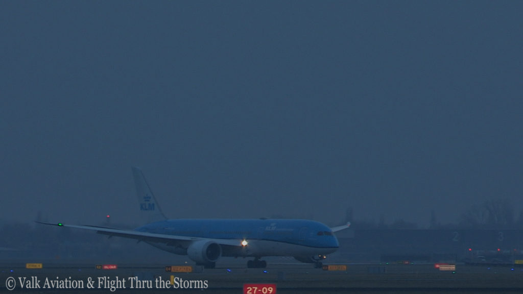 Last Flight of Captain Marten Oostenbroek @ KLM.Still026