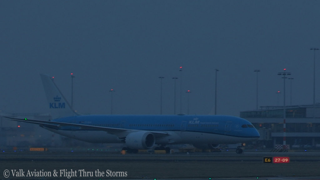 Last Flight of Captain Marten Oostenbroek @ KLM.Still028