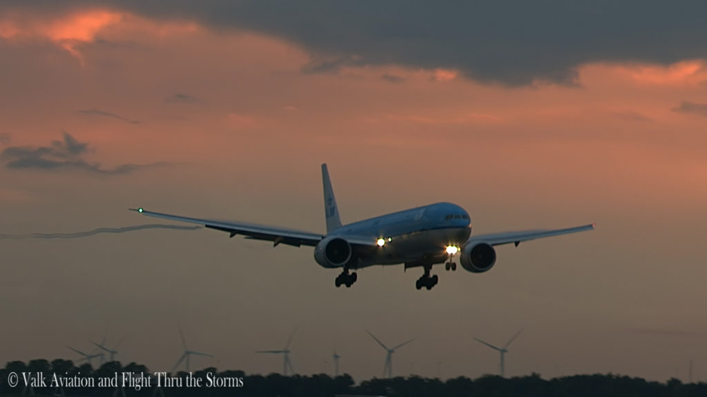 Last Flight of Cpt Wil Janssen @ KLM B777.Still021