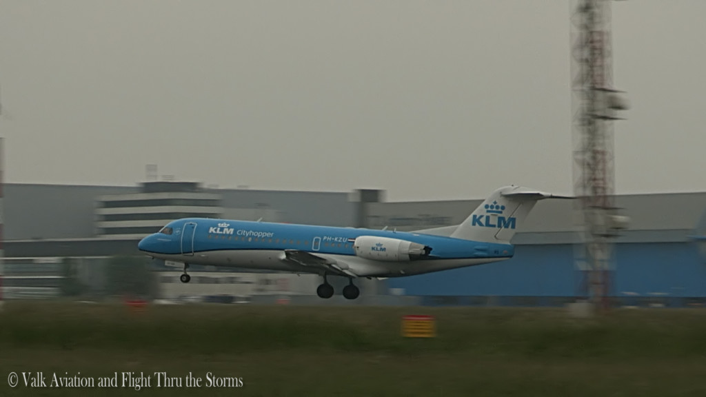 Last flight at a Fokker70 @ Captain Sebastiaan Ran.Still007