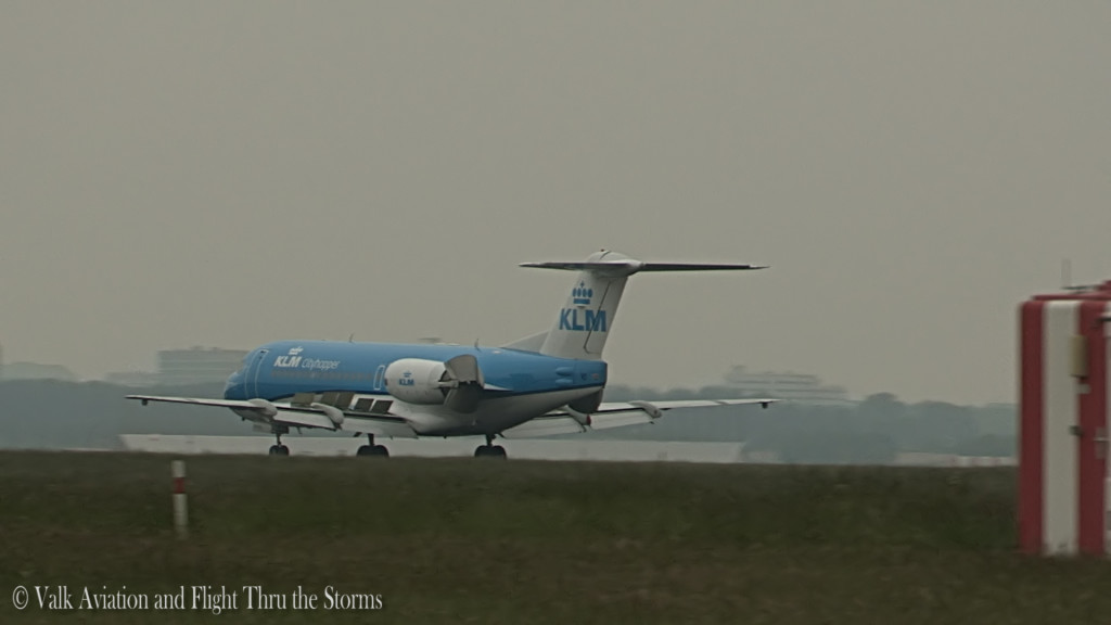 Last flight at a Fokker70 @ Captain Sebastiaan Ran.Still010