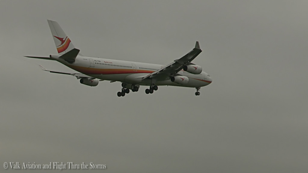 Last flight of Bert Ingelhammar @ Cpt SLM A340.Still24