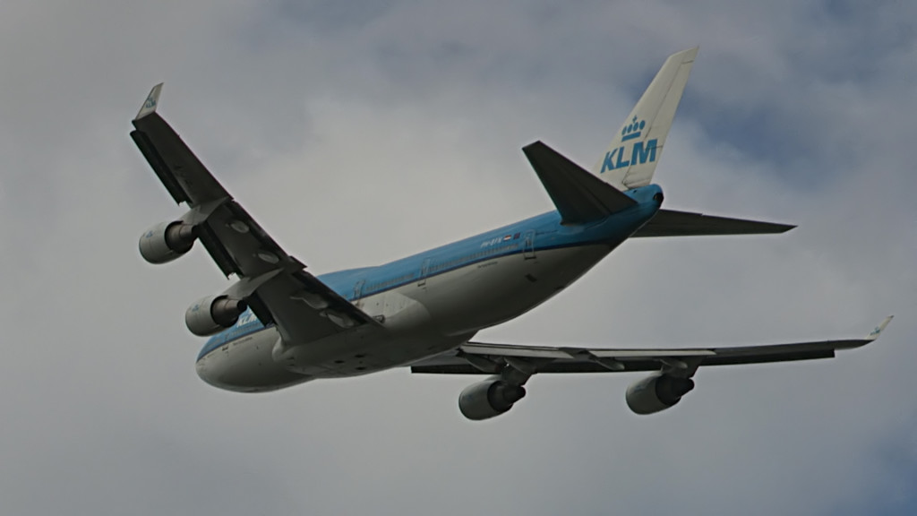 Last flight of Egbert Fontilus @ Cpt KLM B747.Still014