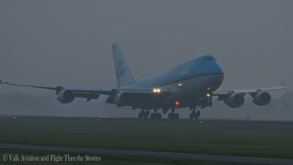 Last flight of Egbert Fontilus @ Cpt KLM B747.Still026