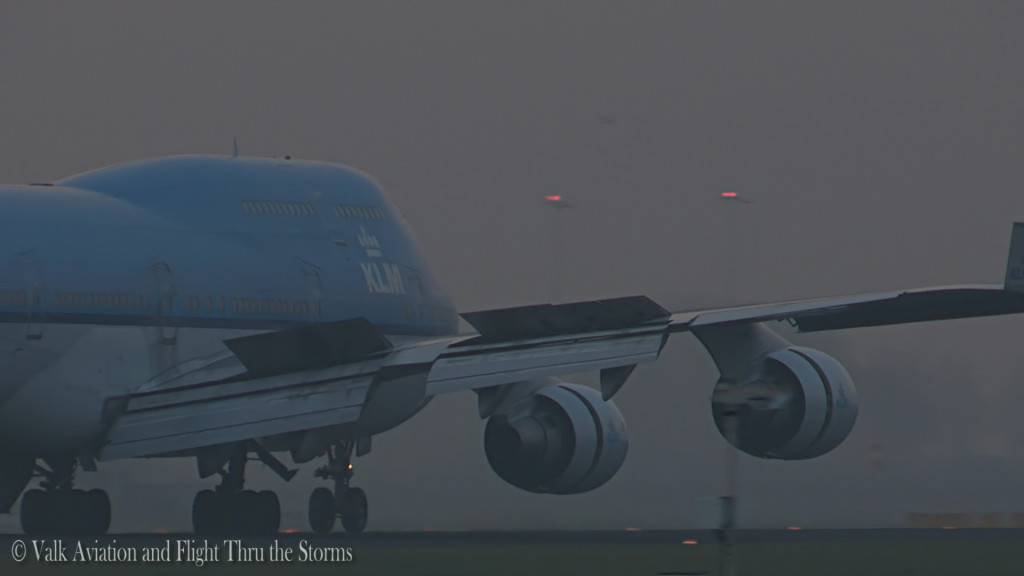 Last flight of Egbert Fontilus @ Cpt KLM B747.Still031