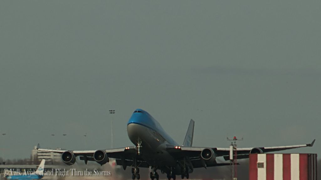 Last flight of Erik Stassen @ Cpt KLM B747.Still1