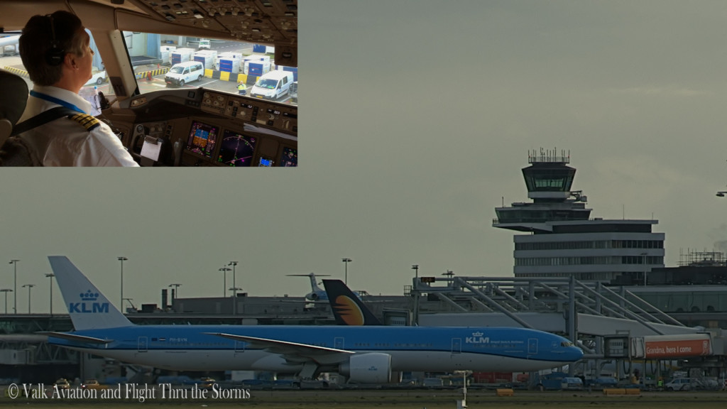 Last flight of Frans van Giersbergen @ Cpt KLM B777.Still008