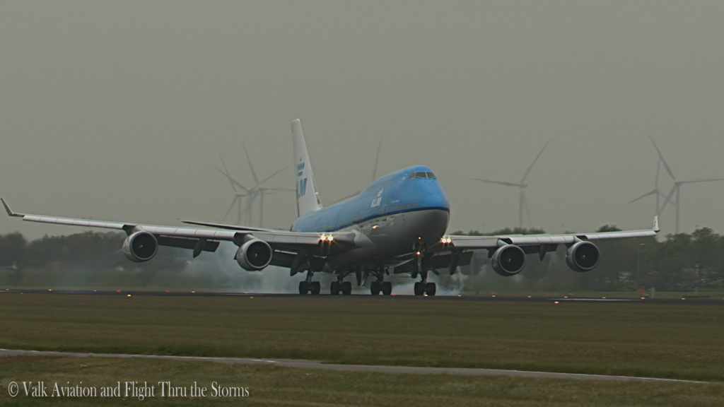 Last flight of Gino Kribben @ Cpt KLM B747.Still006