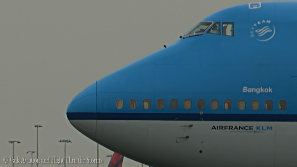 Last flight of Gino Kribben @ Cpt KLM B747.Still019