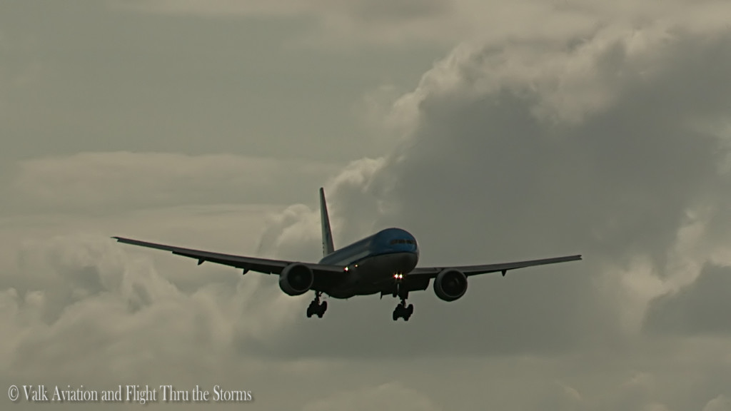 Last flight of Remco Emanuel @ Cpt KLM B777.Still046