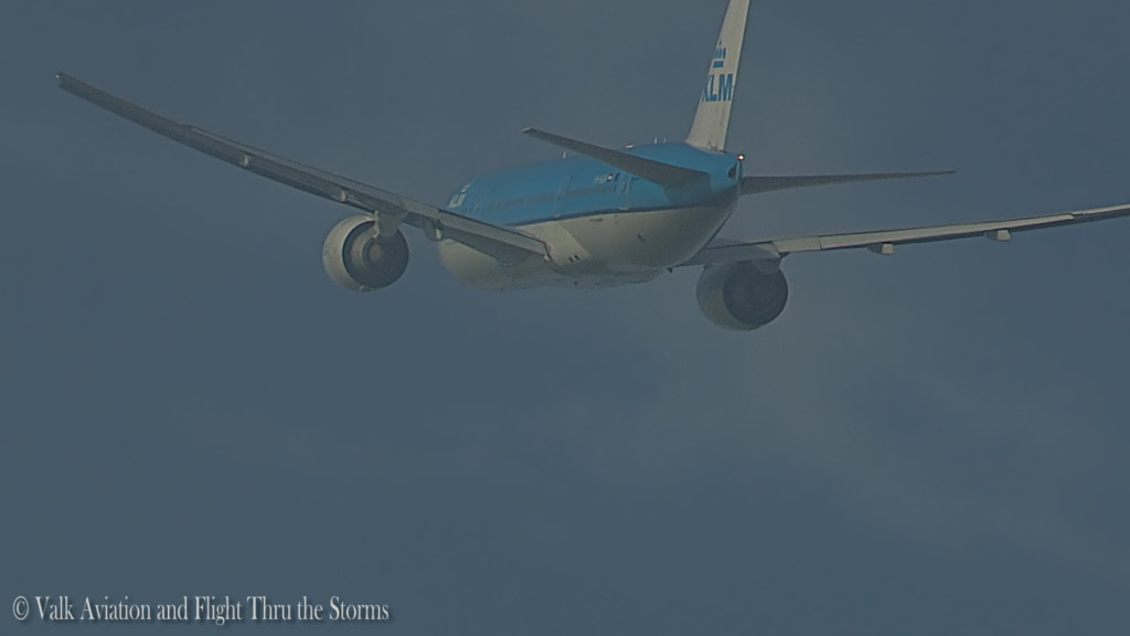 Last flight of Ron Engels @ Cpt KLM B777.Still007